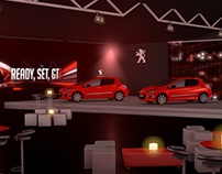Renders Presentación Evento Peugeot