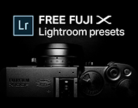 Free Lightroom presets for Fujifilm cameras