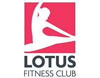 Lotus Fitness Club Logo Design