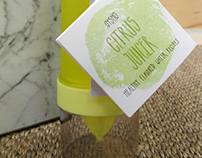 Booklet citrus juicer (Gym) - for Oysho