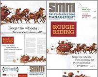 SM&M Magazine wheels off