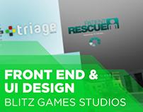 Blitz, Front-End & UI Design (2007 - 2009)