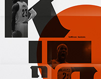 LeBron James Typeface / Nike Basketball