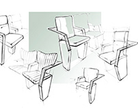 Conference halls seats for Pronto-Seating company