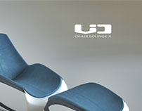 New chair lounge X by VIO