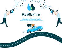 Animation for BlaBlaCar