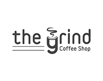 Logo For The Grind Coffee Shop #ThirtyLogos