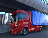The Renault 'Inspyr' truck concept