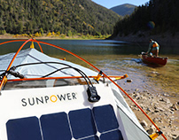 SunPower and EcoFlow Recreation Partnership