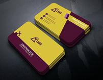Professional Unique Business Card Design.