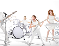 Parmalat Zymil Milk Band