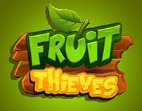 Fruit Thieves Game Logo
