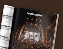 DJ Mag Ad - Cosmic Gate Wake your Mind
