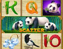 """Slot machine - """"Panda"""""""