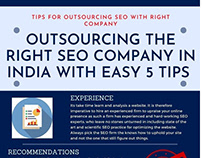 Outsourcing the right SEO Company in India easy 5 tips