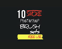 10 Free Sets of Smoke Brushes Photoshop