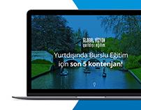Global Vizyon - Landing Page