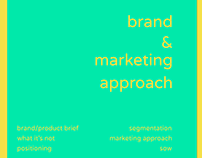 Brand & Marketing Approach