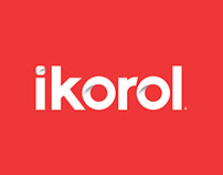 ikorol branding and packaging