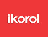 ikorol branding and packaging