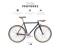 Bike Co. Website Concept