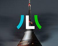Liberec city logo & branding