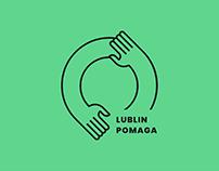 Lublin Pomaga Visual ID
