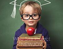Newjoy Web Site Project