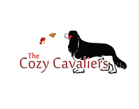The Cozy Cavaliers Logo & Website - 2014