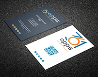 Business-card for a Technology company