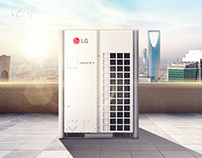 LG MULTI V LARGE CAPACITY AIR CONDITIONS
