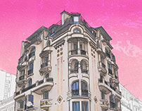 Architectural drawings - Paris 14th district