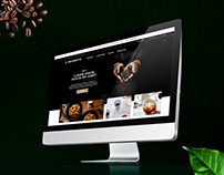 Van Houtte website redesign