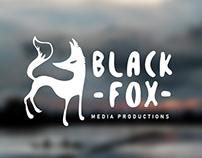 Black fox media_Identity design