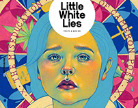 Cover illustration for Little White Lies no. 76