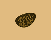 The Whole Bean- Style Guide, Landing Page, Logo Design