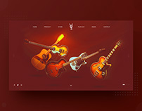 Rock on Roll Page Design Consept
