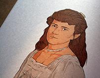 """Dedektif Dna"" Book Illustrations"