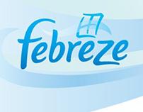 Febreze Microsite Campaign