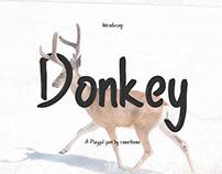 Donkey Font