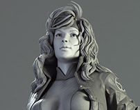 Rogue fan art - Collectible Statue