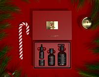 《SC》圣诞护肤套装包装设计