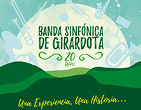 Banda Sinfónica de Girardota - 20 Años / Cover Art