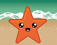 Sandy and the Sea Stars