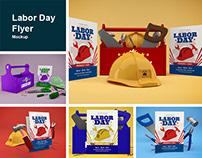 Labor Day Flyer Mockup