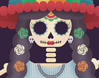 Poster Catrina Fest