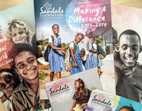 Sandals Foundation Identity
