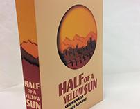 Half of a Yellow Sun Book Cover Re-Design