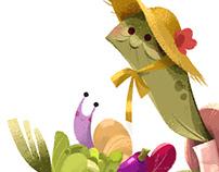 Gardening Turtle