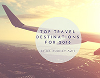 Top Travel Destinations for 2018 by Dr. Rodney Aziz